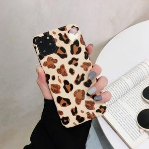 NEW iPhone 11/Pro/Max/XR Leopard Case